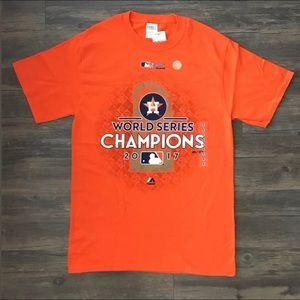 Size XXL Authentic Houston Astros 2017 WS Shirt